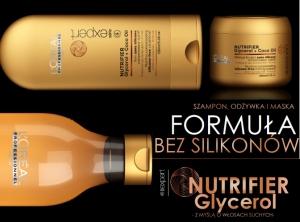 Nutrifier Glycerol - włosy suche
