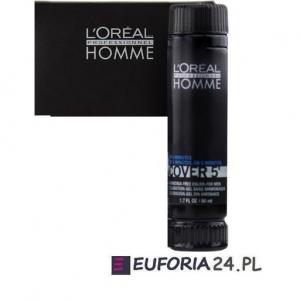 Loreal Homme Cover 5,farba , żel do koloryzacji włosów dla mężczyzn, 1sztx50ml