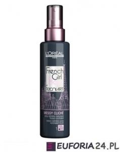 LOREAL FRENCH GIRL MESSY CLICHE spray efekt potarganych włosów 150ml