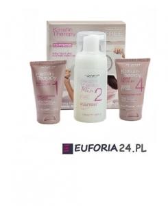 Alfaparf lisse design keratin therapy zestaw Keratynowe prostowanie włosów