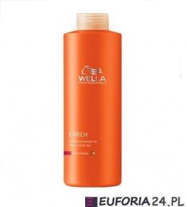 Wella Enrich szampon nadający objętość do włosów cienkich i normalnych, 1000ml