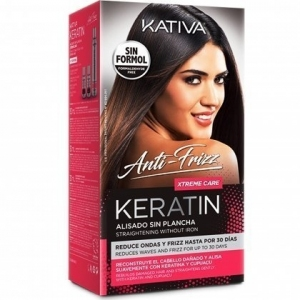 Kativa Keratin Xtreme Care Zestaw do  prostowania włosów
