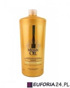 Loreal Mythic Oil, szampon do włosów grubych, 1000ml + pompka