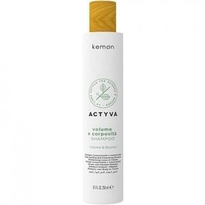 Kemon ACTYVA Volume E Corposita, szampon do włosów  nadający  objętość 250ml
