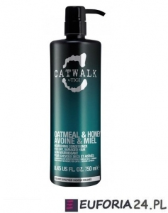 Tigi Catwalk Oatmeal&Honey, szampon głęboko nawilżający, 750 ml