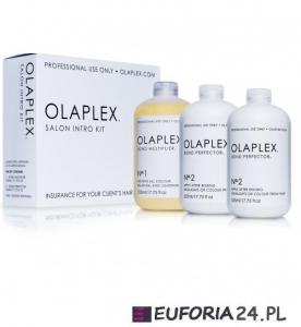 Olaplex Salon Intro Kit Zestaw regeneracja włosów No.1szt 525 ml + 2szt x No.2 525 ml