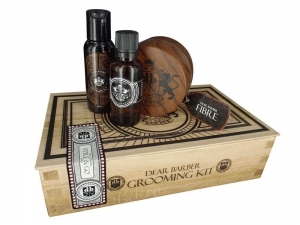 Dear Barber Collection V Style & Go Fibre Set - szampon 50ml+ perfumy 30ml+ pasta 100ml)