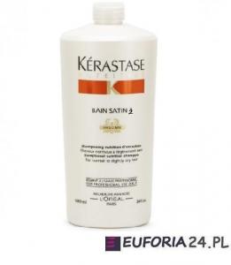 Kerastase Nutritive Irisome Bain Satin 2, kąpiel odżywcza, włosy suche i uwrażliwione, 1000ml