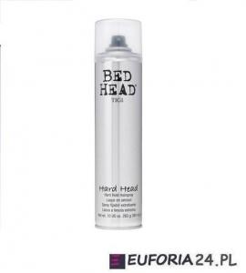 Tigi Bed Head Hard Head, lakier bardzo mocno utrwalający, 385 ml