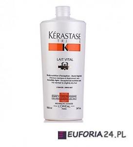 Kerastase Nutritive Lait Vital Irisome, mleczko odżywcze włosy suche i normalne, 1000ml