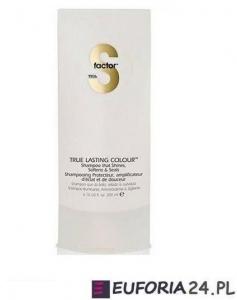 Tigi S-Factor True Lasting Colour, szampon do włosów farbowanych, 200ml