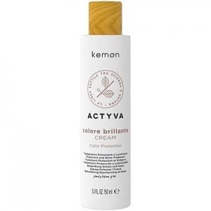 Kemon ACTYVA Colore Brillante, krem bez spłukiwania do farbowanych włosów 150ml