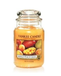 Yankee Candle świeca Classic Large Jar Mango Peach Salsa Candle 623g