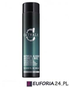 Tigi Catwalk Oatmeal&Honey, szampon głęboko nawilżający, 300 ml