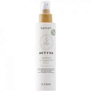 Kemon ACTYVA Volume E Corposita, fluid  pogrubiający włosy spray 150ml