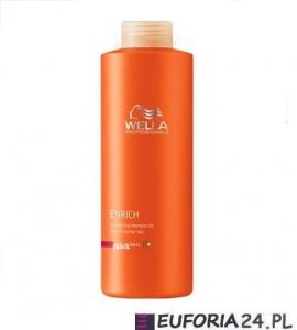 Wella Enrich szampon nawilżający do włosów grubych, 1000ml