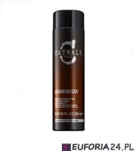 Tigi Catwalk Fashionista Brunette, szampon do ciepłych odcieni brązów, 300ml