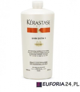 Kerastase Nutritive Irisome Bain Satin 1, kąpiel odżywcza, włosy suche i cienkie, 1000ml