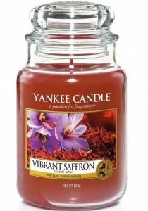 Yankee Candle świeca Large Jar Vibrant Saffron 623g