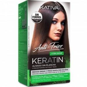 Kativa Keratin Xtra Shine Zestaw do prostowania włosów