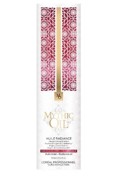 LOREAL MYTHIC OIL Radiancel olejek do włosów koloryzowanych, 100ml