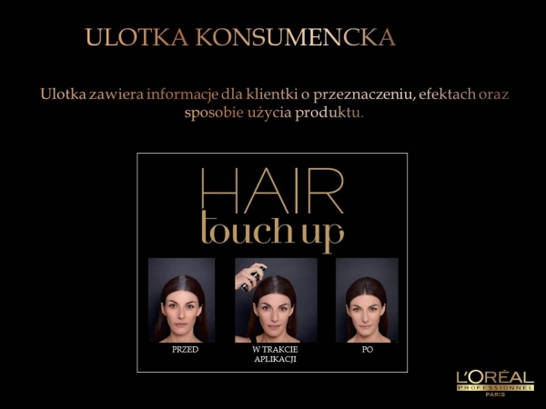LOREAL HAIR TOUCH UP SPRAY NA ODROSTY 75ml  6 kolory